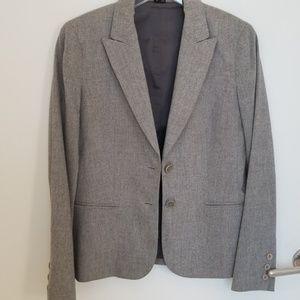 Theory soft grey blazer